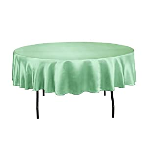 Linentablecloth Round Satin Tablecloth 90
