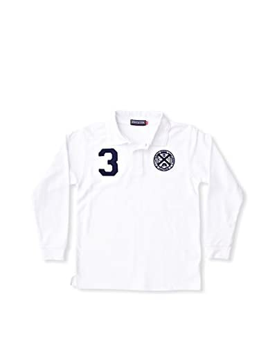 POLO CLUB Polo Regular Fit Number [Bianco]