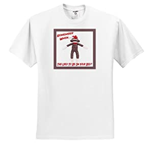 Susan Brown Designs Retro Themes - Sock Monkey - T-Shirts