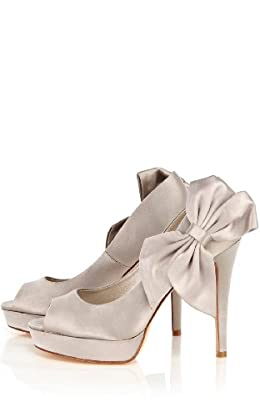 Bow Corsage Peep Toe