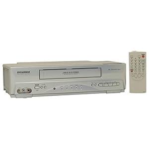 Sylvania 6260VF 4 Head VCR
