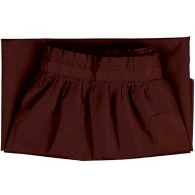 Coffee Plastic Table Skirt 1 per Package