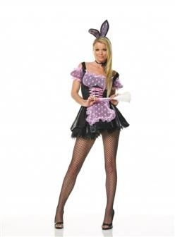 Adult Sexy French Maid Bunny Costume