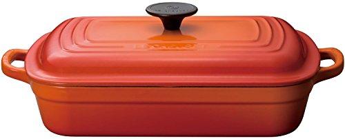 LE CREUSET ココットレクタンギュラー 29cm オレンジ 25184-29-09
