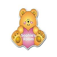 Personalised Love Bear Door Plaque
