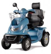 TGA Breeze S4 Class 3 Mobility Scooter