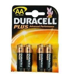 Duracell Piles AA MN1500 Plus de 4 piles LR6 sous blister