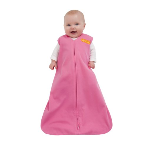 HALO Sleepsack 100% Cotton Wearable Blanket, Bright Pink, Small (Discontinued by Manufacturer)
