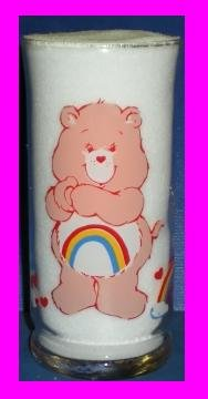 care-bears-cheer-bear-glass-pizza-hut-limited-edition