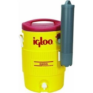 Igloo Water Cooler W/Cup Dispenser 5 Gal White front-388352