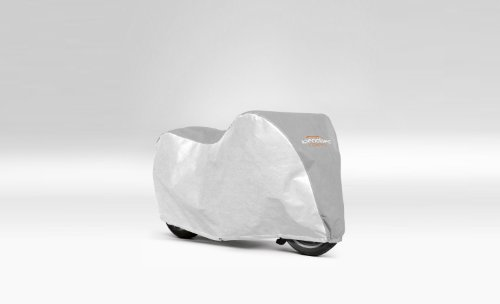 MOTOR BIKE COVER FOR TRIUMPH STREET TRIPLE 675 SILVER