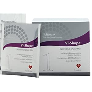 Vi-shape® Nutritional Shake Mix: 15 Individual Packets