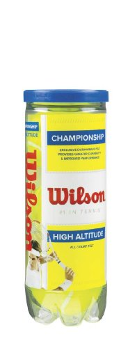 Wilson Sporting Goods Championship High Altitude Tennis Balls (1-Can)