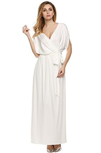 Angvns-Womens-Elegant-Batwing-Dolman-Sleeve-Classy-Maxi-Evening-Dress