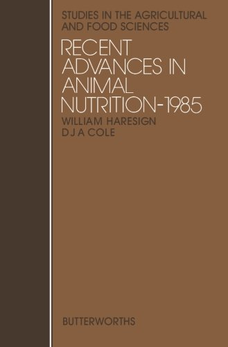 Recent Advances In Animal Nutrition-1985