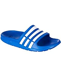 Adidas Duramo Slide K US 5y m (RoyalBlue/White)