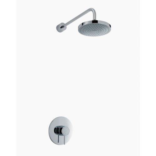 Mira Element SLT BIR Shower Kit - Single Lever, Chrome - Single Spray Showerhead