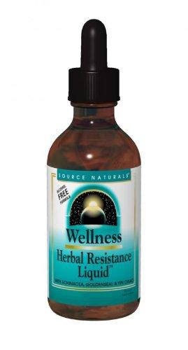 Source Naturals Wellness Herbal Resistance Liquid, 4 Fluid Ounce