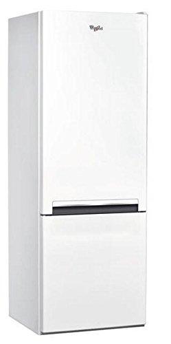 Whirlpool BLF 5001 W Freestanding Blanc 196L 75L A+ réfrigérateur-congélateur - réfrigérateurs-congélateurs (Autonome, Blanc, Bas-placé, A+, Non, T, LED)