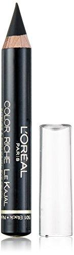 L'Oréal Make Up Designer Paris Color Riche le Kajal Matita Occhi, 501 Oriental Black