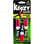 Elmer's Prod.KG48812Krazy Glue Maximum Bond Super Glue-3PK GEL MAX BOND GLUE