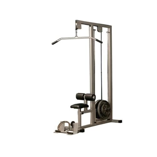 com Fitness Edge Plate Loaded Lat Pulldown Machine Sports  amp  OutdoorsPlate Loaded Lat Pulldown Machine