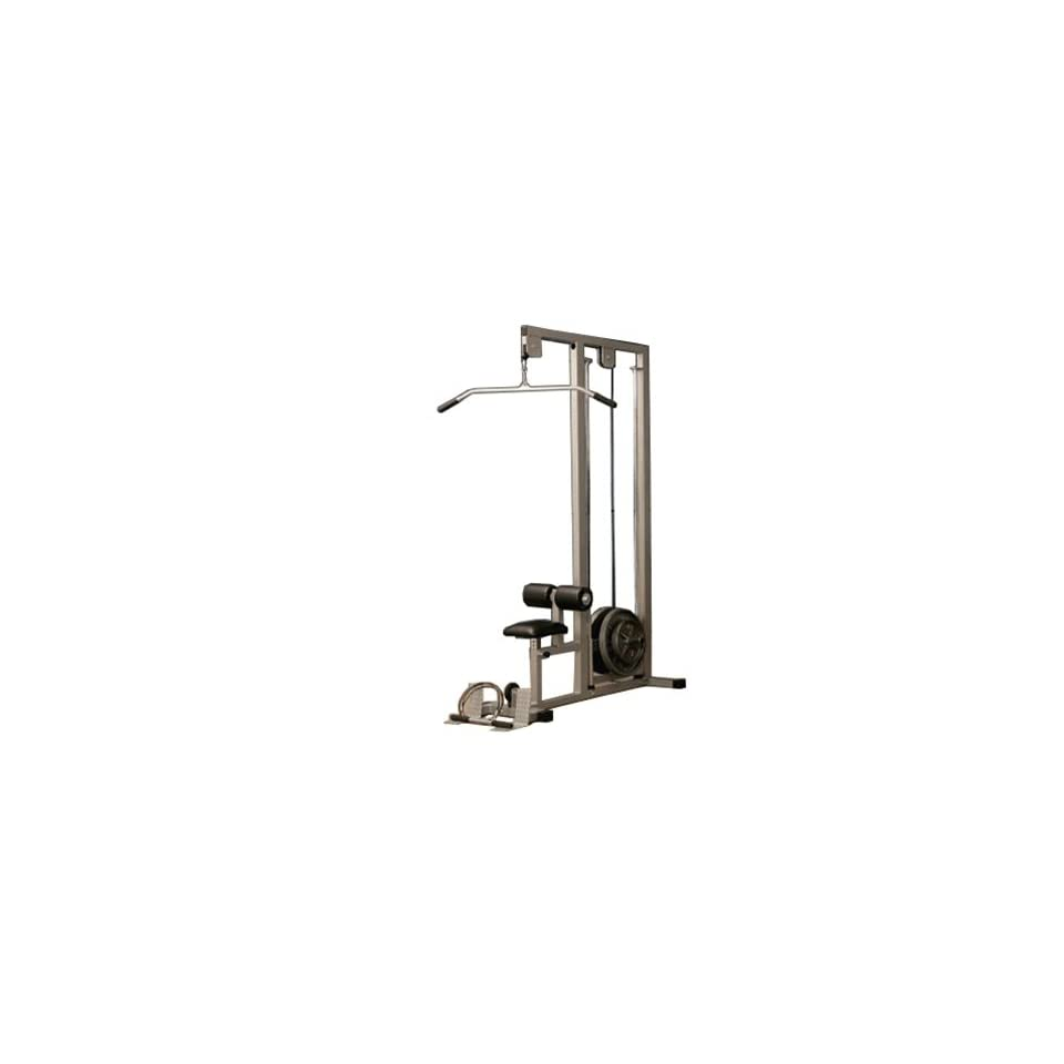 Fitness Edge Plate Loaded Lat Pulldown Machine  Sports  amp  OutdoorsPlate Loaded Lat Pulldown Machine