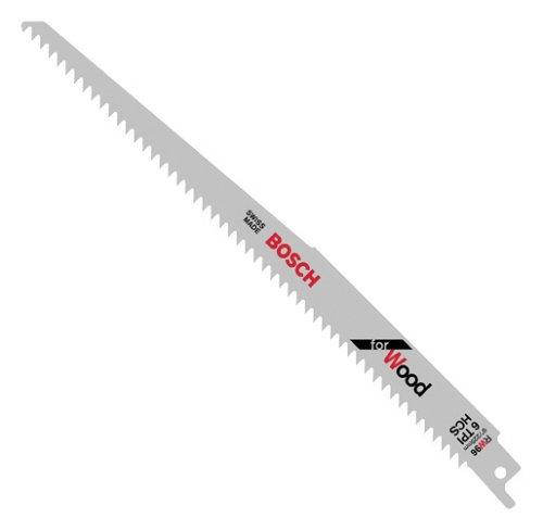 Bosch Rw96 9-Inch 6 Tpi Wood Cutting Reciprocating Saw Blades - 5 Pack