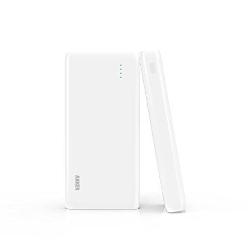 Anker Astro E7 超大容量 25600mAh モバイルバッテリー iPhone / iPad / iPod / Xperia / Galaxy / Nexus / 3DS / PS Vita / Wifiルーター / ウォークマン他対応 PowerIQ搭載 ホワイト