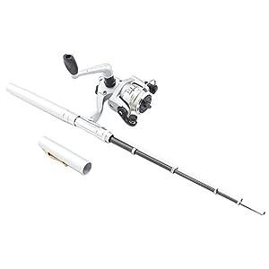 Topix mini aluminum saltwater fishing tackle for Pen fishing rod amazon