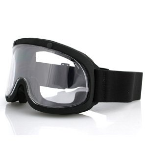 Attacker X500 Goggle, Black, Double Lens