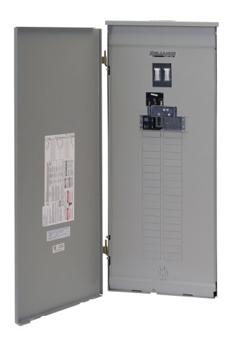 Reliance Controls Ttv2005C Panel/Link 36-Circuit 200 Amp Utility/50 Amp Generator Transfer Switch For Up To 12,500-Watt Generators