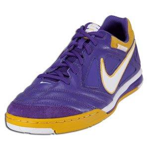 Amazon.com: Nike Nike5 Gato Leather - Varsity Purple/White/Y: Clothing