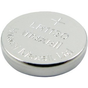 6 LR1130 (189) Alkaline Button Cell Batteries By maxell