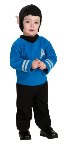Star Trek Romper And Headpiece Spock