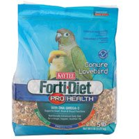 Cheap Kaytee Forti-Diet Pro Health Conure & Lovebird Food (B002LU1SL2)