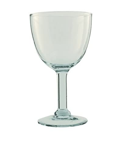 Be Home Set of 4 Small 6-Oz. Recycled Footed Glasses, Clear