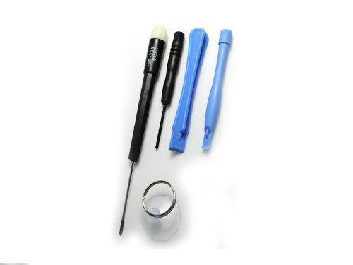 BetterStuff LowerPrice-Cacciavite a stella, Kit di riparazione per Apple Iphone 2 g 3G 3gs 4 g, navigatore GPS, Apple Ipod Video, Nano, Touch, sostituire spaccato antigraffio per schermo Lcd