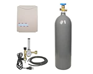 Flora Hydroponics CO2 Tank, Regulator & Contoller/Monitor Kit Combo