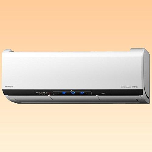 日立 【エアコン】ステンレス・クリーン 白くまくんHITACHI おもに18畳用(電源200V・クリアホワイト) RAS-X56E2-W