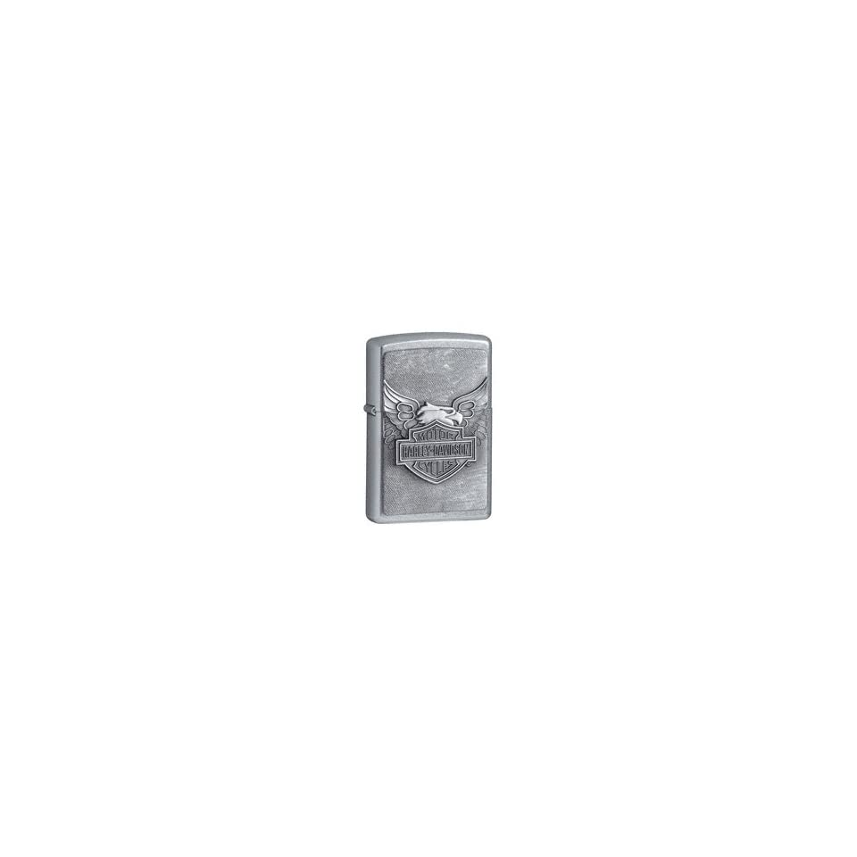 Iron Eagle and Harley Davidson Bar & Shield Zippo Lighter *Free Engraving (optional)