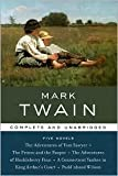 Mark Twain: Five Novels (Library of Essential Writers Series)
