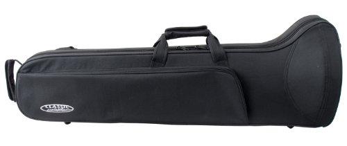 Rocktile Leichtkoffer für Posaune (Posaune Koffer, Lightcase, Softcase für Zugposaunen, reiß- und wasserfestes Außengewebe, hochwertige Thermopolsterung, Außenmaße:  97 x 31 x 33 (B x H x T in cm))