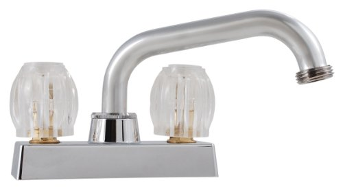 LDR 011 5200 Double Handle Laundry Faucet, Chrome