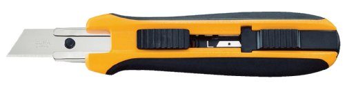 OLFA 9115 UTC-1 Cushion Grip 5-Position Auto-Lock Utility Knife