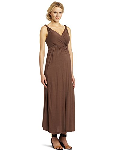 Mothers en Vogue Women's Maternity Athena Maxi Dress