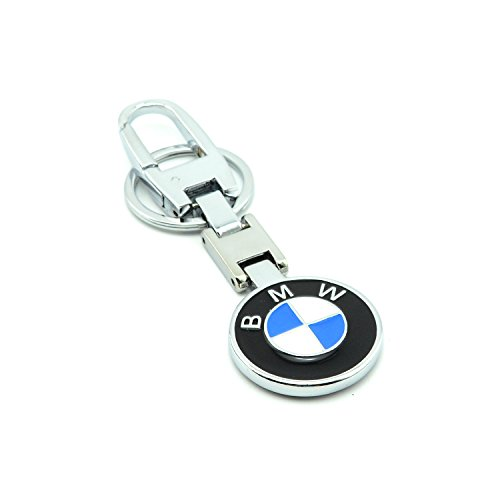 iNewcow BMW Car Chrome Key Chain With Box and Gift Card