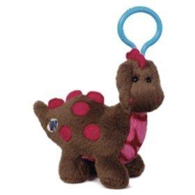 Webkinz 'Kinz Klip Cocoa Dinosaur
