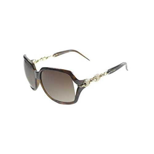 Gucci GG 3584/N 0KS Square Plastic Sunglasses  B017W0ZHYO