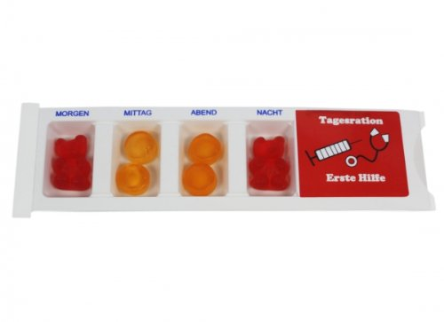 Tablettenbox Erste Hilfe